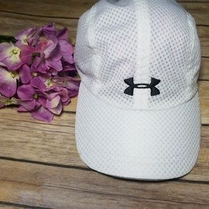 Under Armour  white Hats